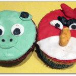 "Canestrelli o ""cupcake"" Angry Birds"