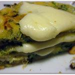 Torrette di frittatine di insalata e formaggio