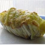 Involtini di cavolo con seitan (tipo pescoi o capunet)