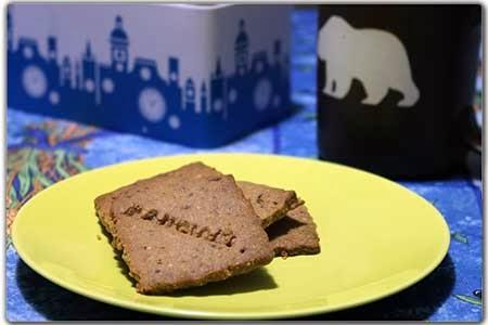 """""""Mangiami"""" nocciole e cioccolato (biscotti)"""