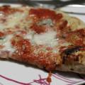 Pizza con pasta madre.