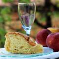 Torta di mele soffice con pasta madre.