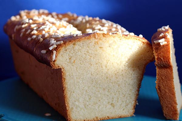 Plumcake con pasta madre.