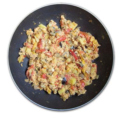 Ciambotta con uova