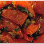 Insalata di pomodorini essiccati