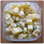 Insalata di patate, yogurth ed erba cipollina