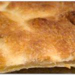 Focaccia sottile al formaggio (tipo focaccia di Recco)