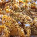 Lumaconi con zucca, caprino e pistacchi.