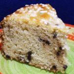 Torta lievitata con pasta madre e senza burro.