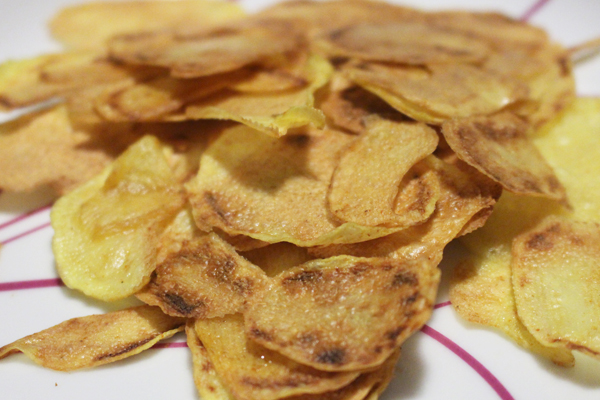 Patatine chips al crisp